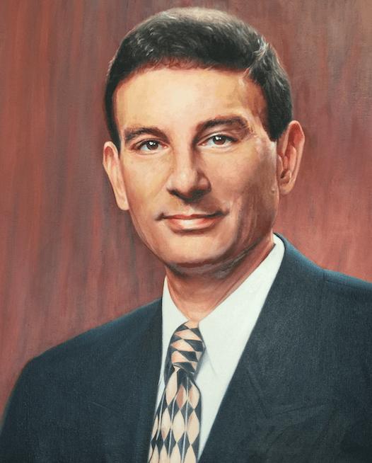 Matt Schure, NYIT's second president Oil Portrait Commission by artist Todd Krasovetz