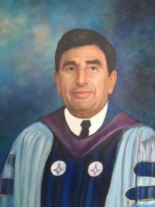 NYIT President Portrait by Todd Krasovetz