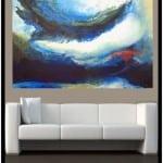 """Contemporary Art titled """"Underwater Storm"""" by Artist Todd Krasovetz"""