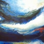 Contemporary Art Oil on Canvas Titled Coming Spring by Artist Todd Krasovetz