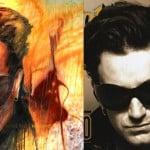 U2 Bono Original Art by Todd Krasovetz side by side 4 x 4 feet Original is Available $599,000.