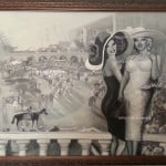 Jane and Marilyn at the Del Mar Races watermarked Oil on Canvas  by Artist Todd Krasovetz 2013